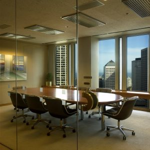 Conference Room Window Film