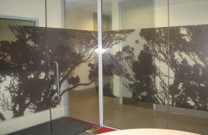 Tree Sillhouettes - Custom Decorative Film