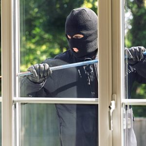 A malicious attack from the exterior such as an armed robbery or break in