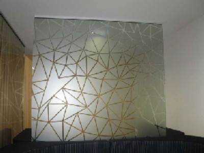 Triangle Mesh - Custom Decorative Film