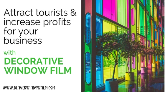 decorative window film denver