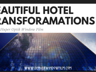 Beautiful hotel transformations window film Denver